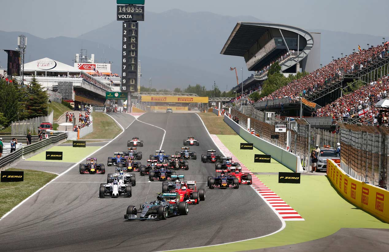 GP España 2015: la carrera