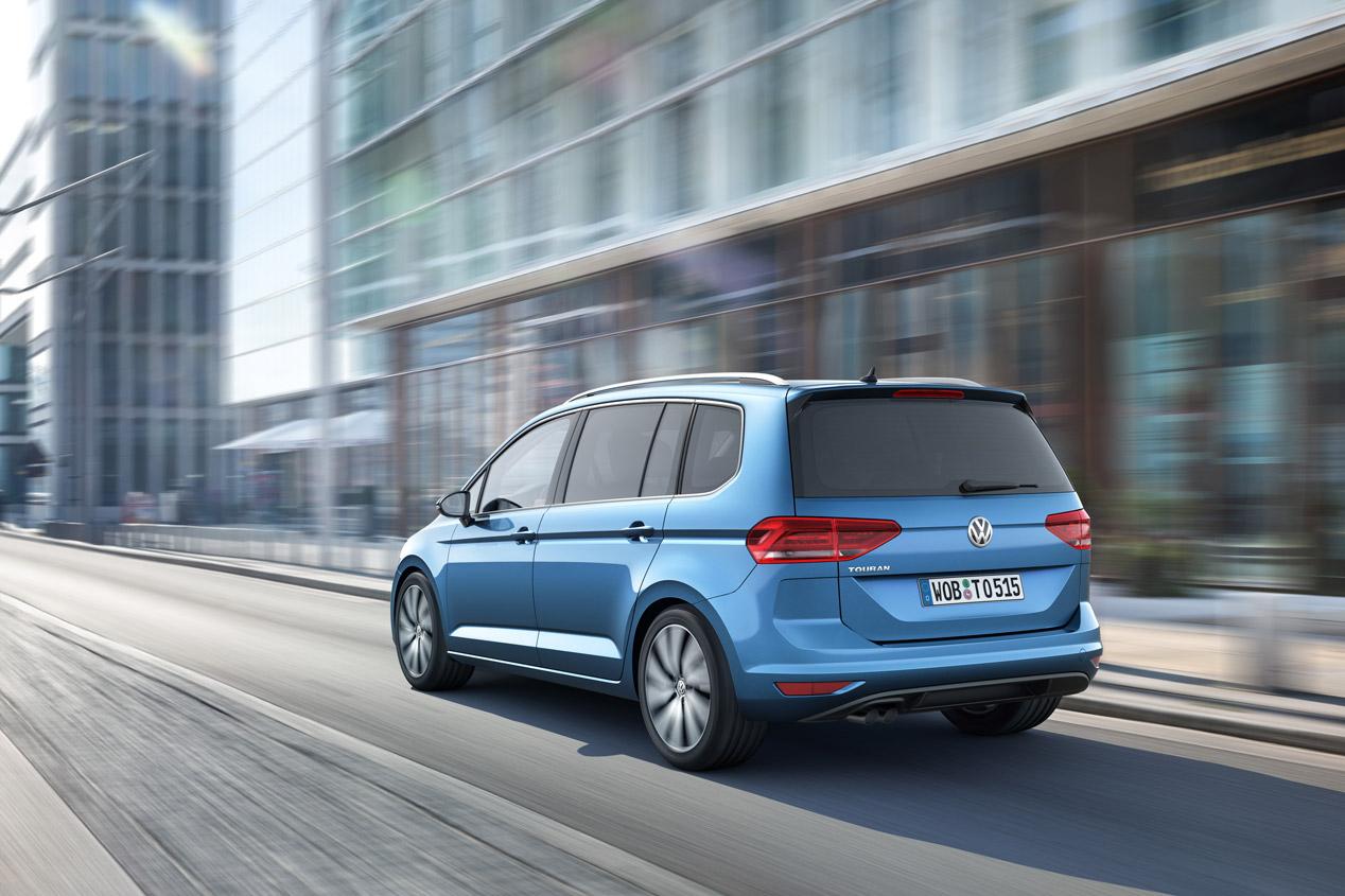 Volkswagen Touran 2015, desde 21.500 euros