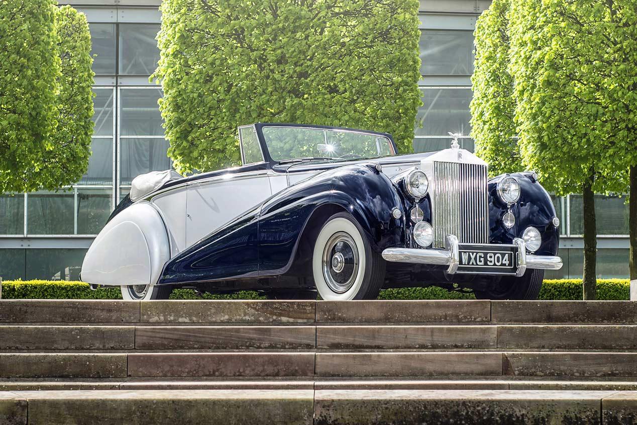 Dawn, el nuevo descapotable de Rolls Royce