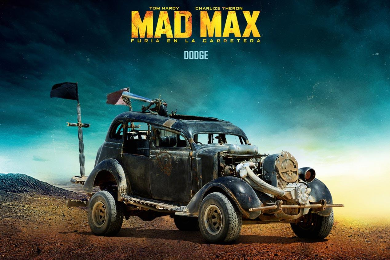 Coches de Mad Max, de pelicula