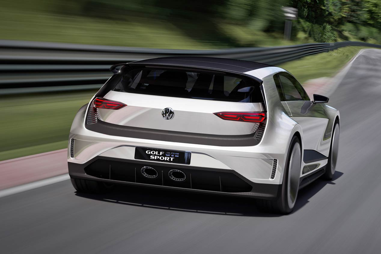 VW Golf GTE Sport