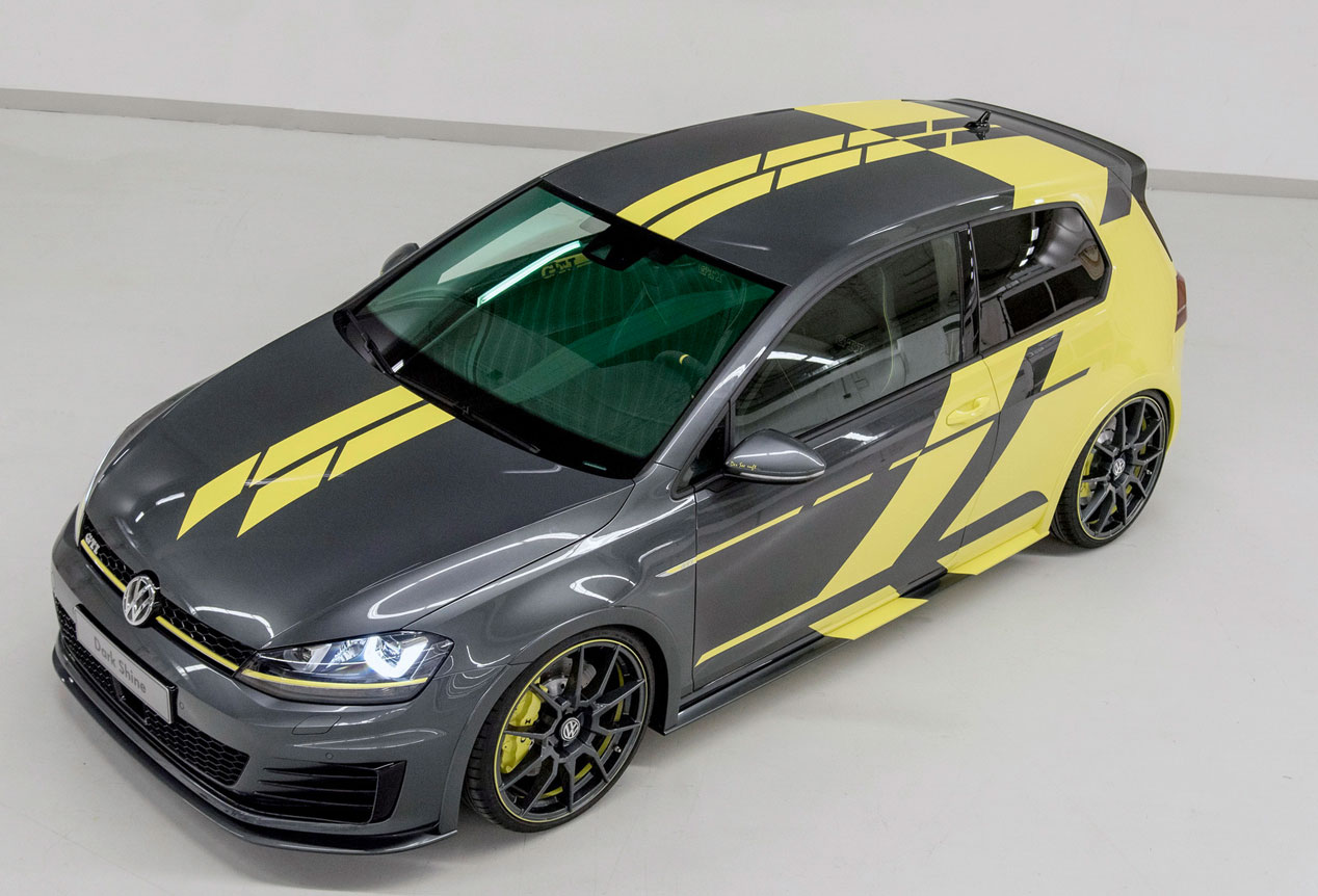 Volkswagen Golf GTI Dark Shine, 'golfo' y radical
