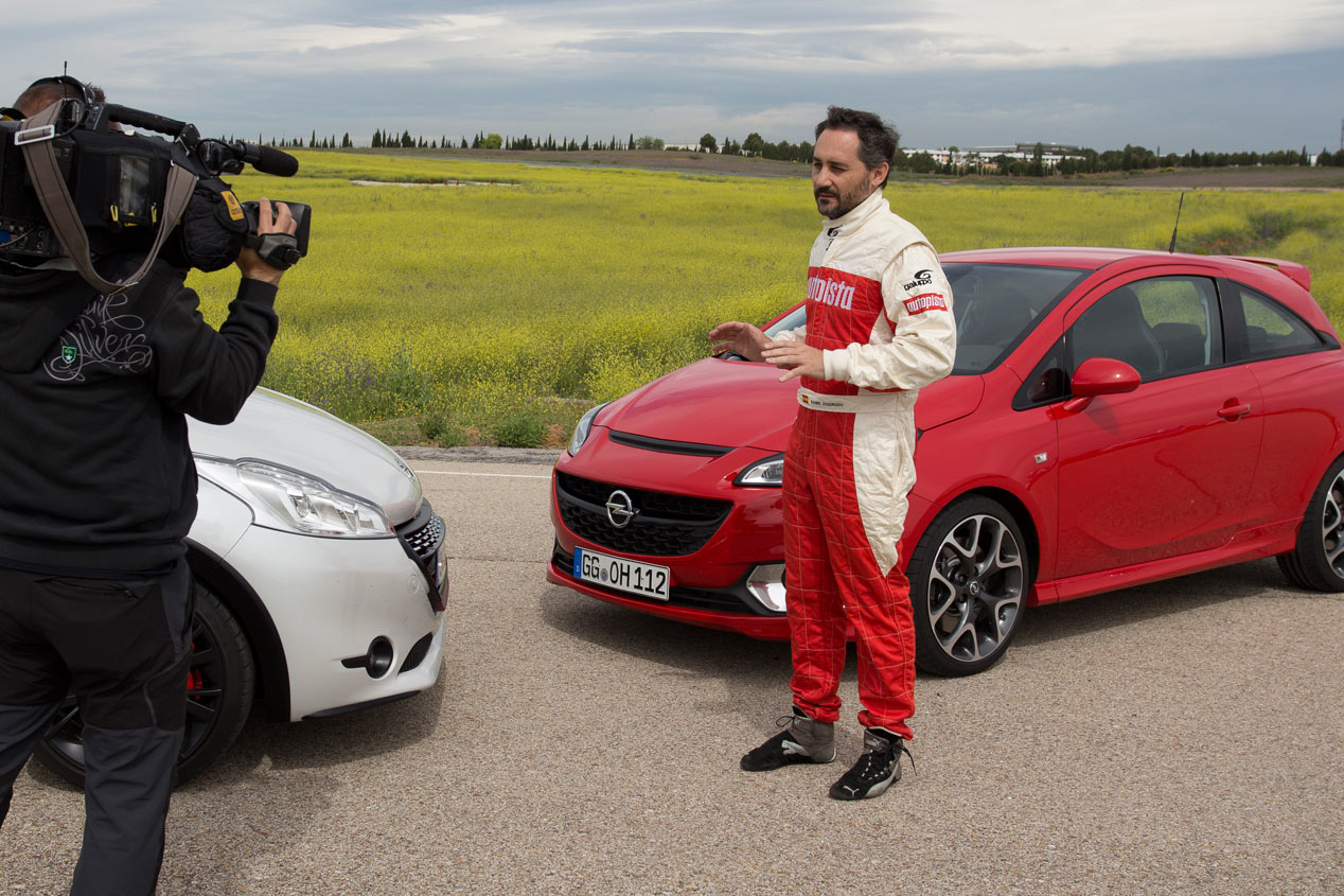 Opel Corsa OPC vs Peugeot 208 GTI 30th, en vídeo