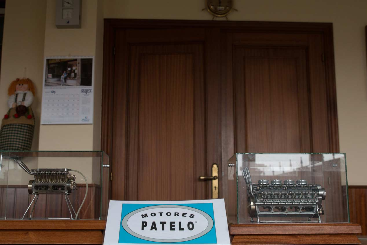 Motores Patelo: visitamos su colección de motores a escala