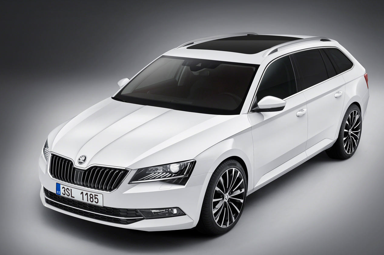 Skoda Superb Combi, espacio superior