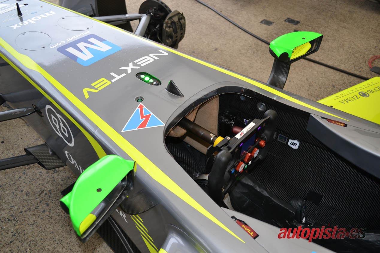 ¿Para qué sirve la luz verde de un Fórmula E?