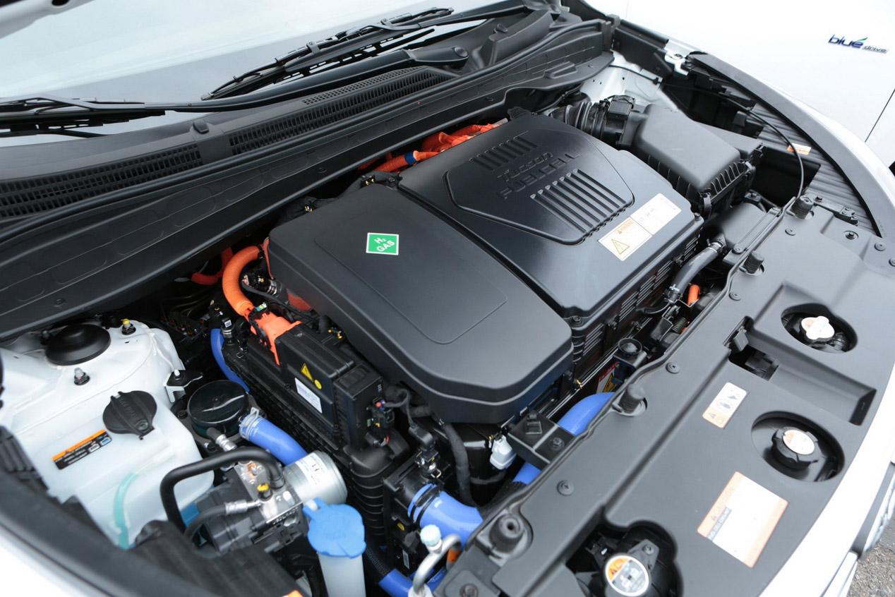 Hyundai Tucson de célula de combustible