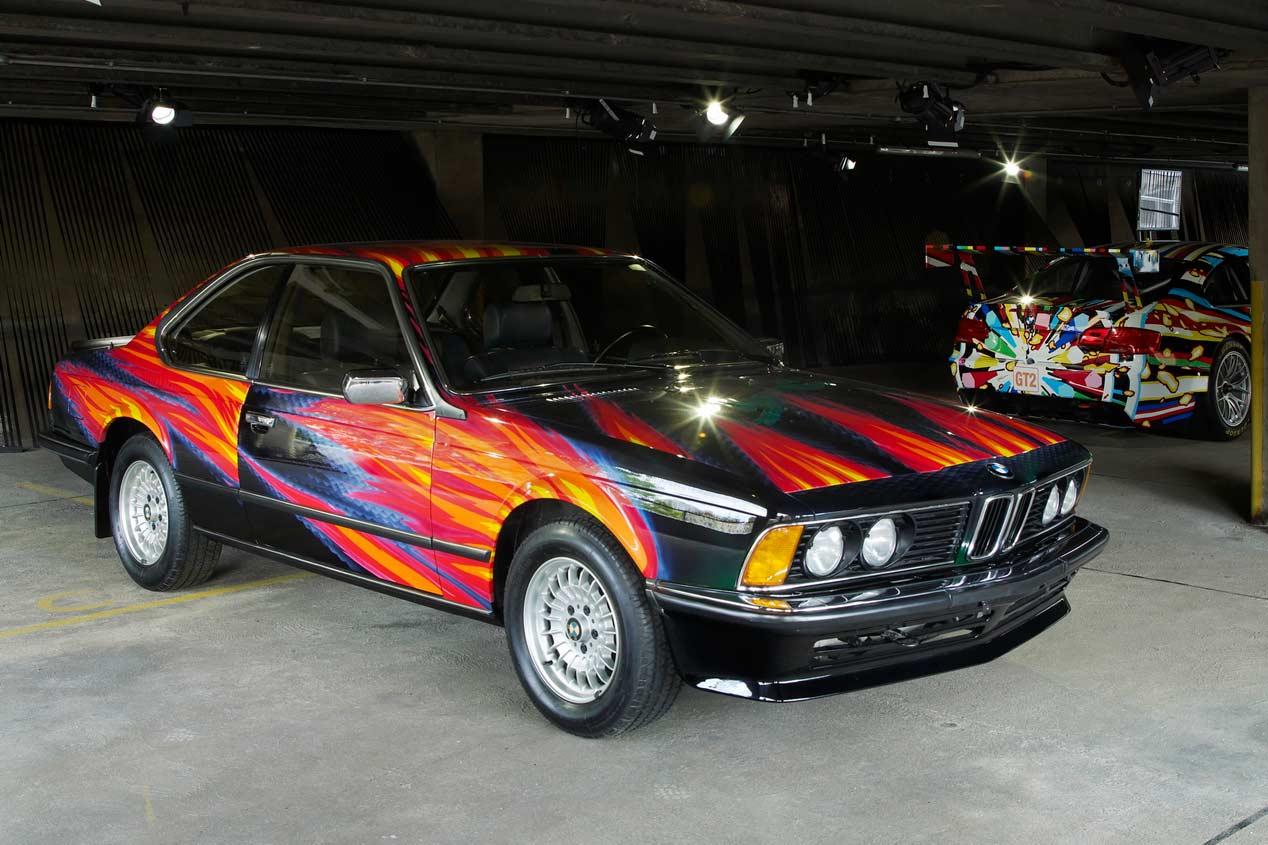 BMW Art Collection, 40 años de arte deportivo sobre ruedas