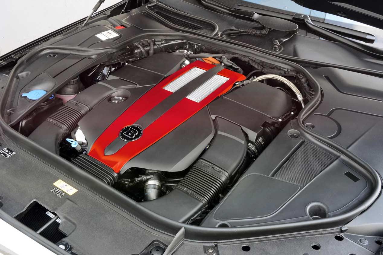 Mercedes S500 Plug-in Hybrid por Brabus, sobredosis de energía