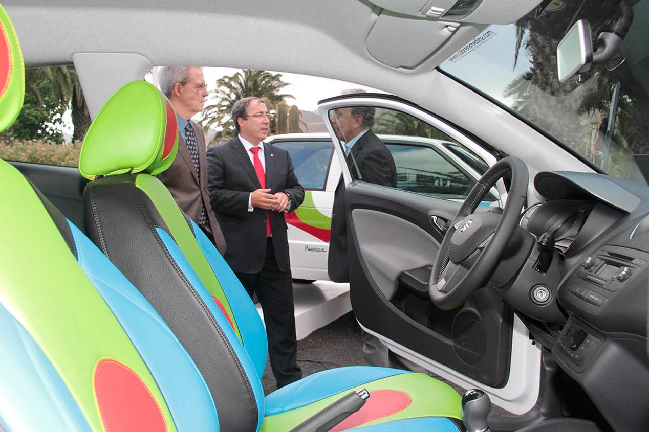 El Seat Ibiza recupera los colores de César Manrique