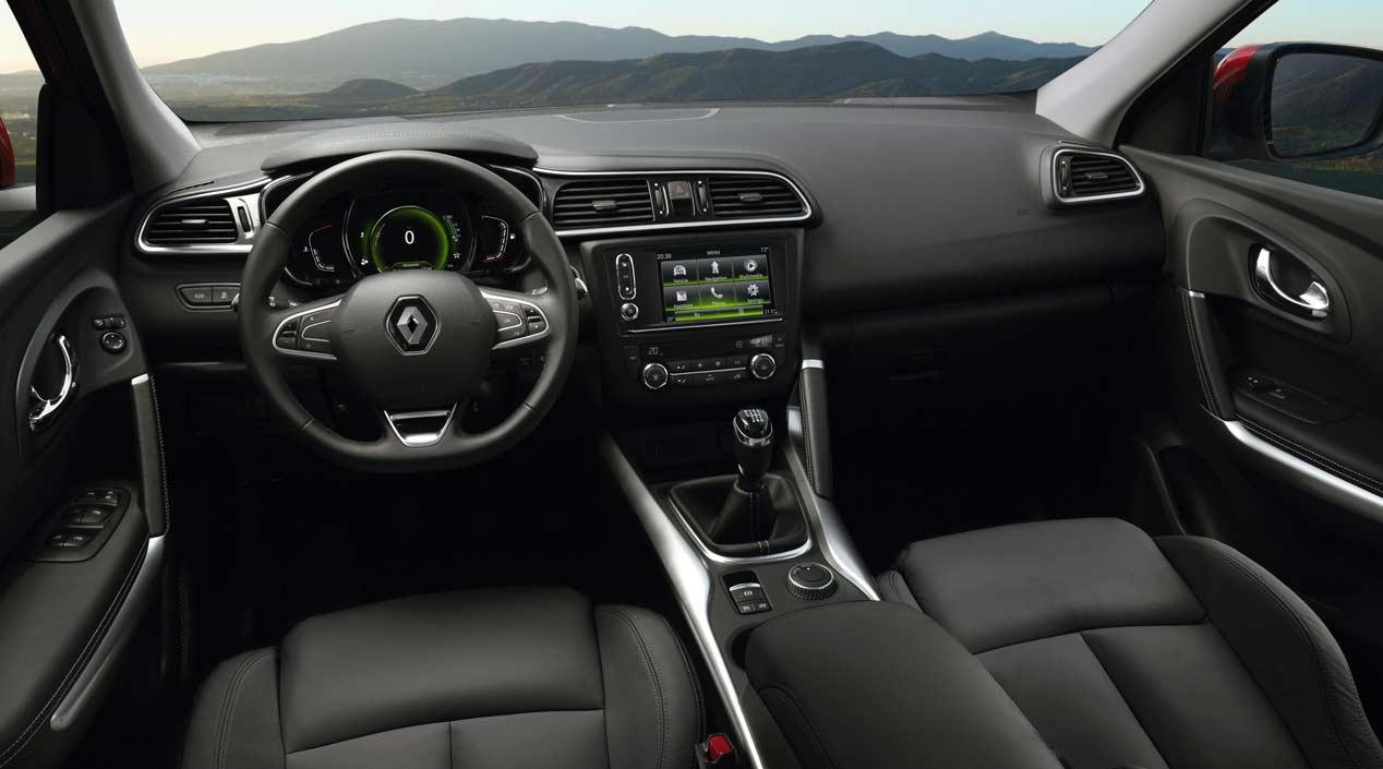 Renault kadjar 1 2 tce y 1 6 dci opiniones pruebas de for Interieur kadjar