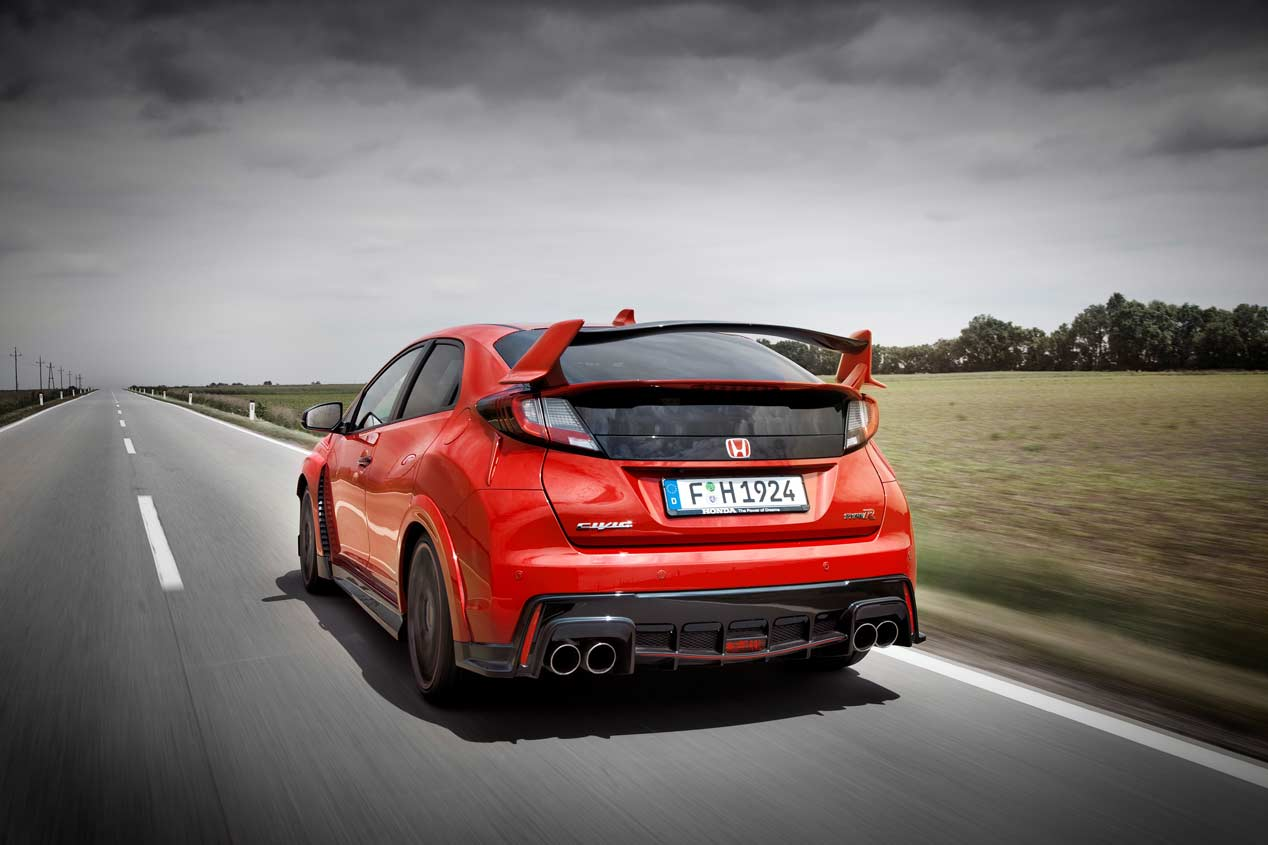 Honda Civic Type R exterior