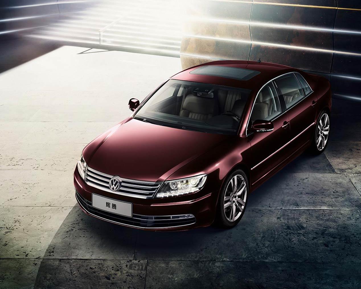 Volkswagen Phaeton, actualización para China