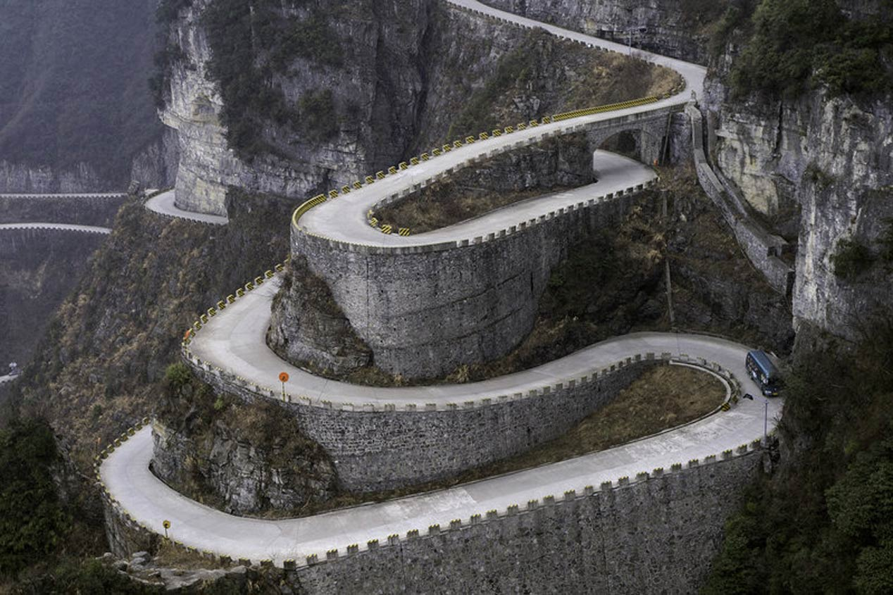 Tianmen Mountain Road (China)