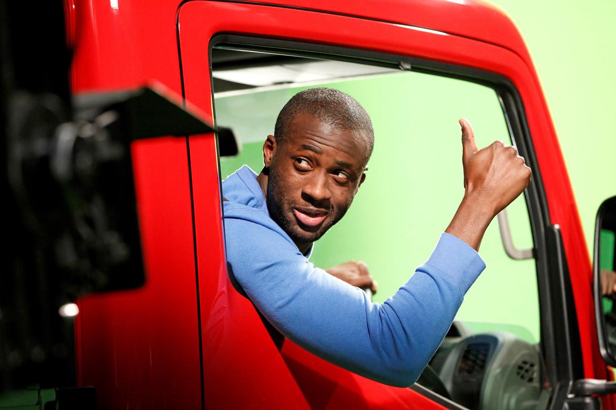 Así se rodó el 'Truckerball', el nuevo anuncio futbolero de Nissan