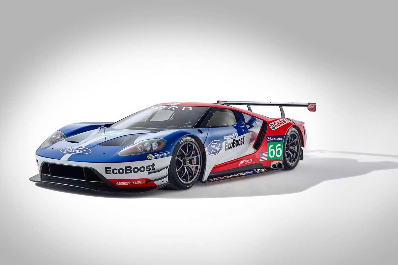 Ford GT Le Mans Racecar 2016