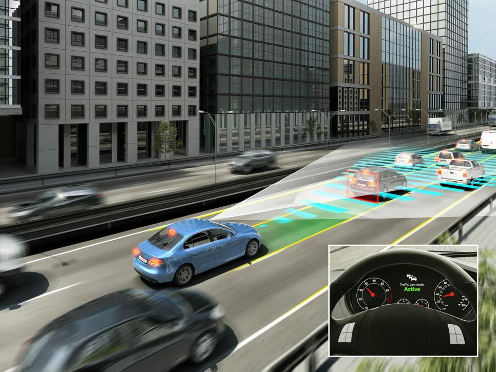 Sistemas automáticos asistirán las maniobras y la conducción