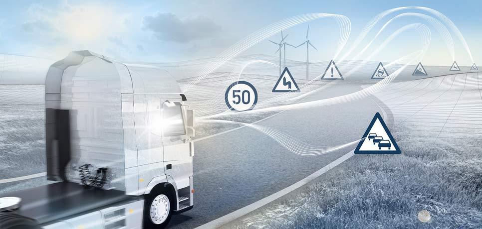 Un horizonte conectado amplía la visión del conductor... y del vehículo