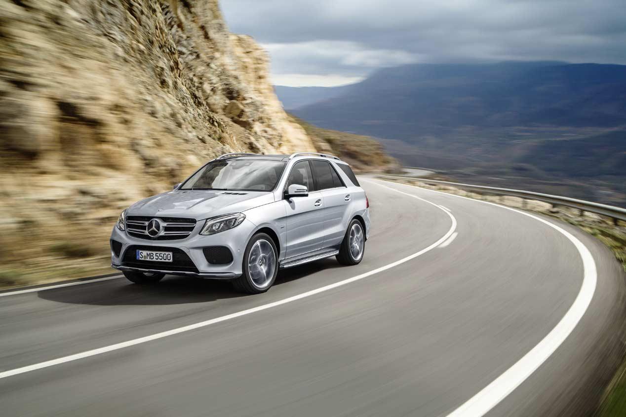 Primera prueba: Mercedes GLE