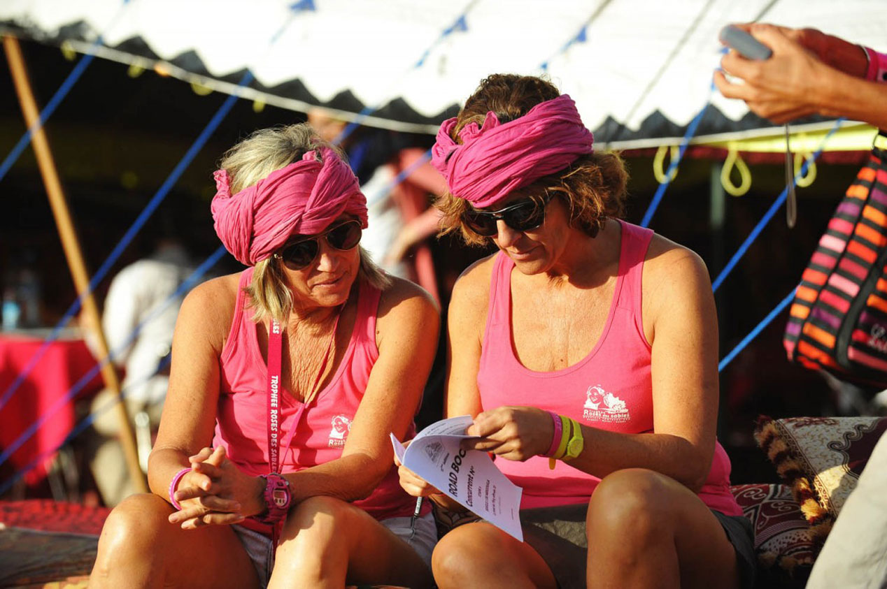 Roses des Sables, el raid femenino y solidario