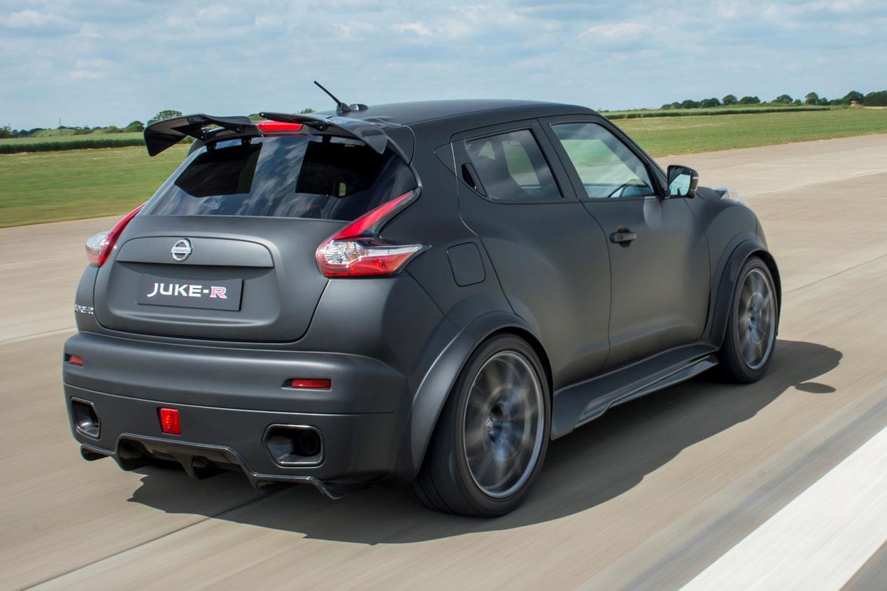 Nissan Juke-R 2.0, 600 CV de locura