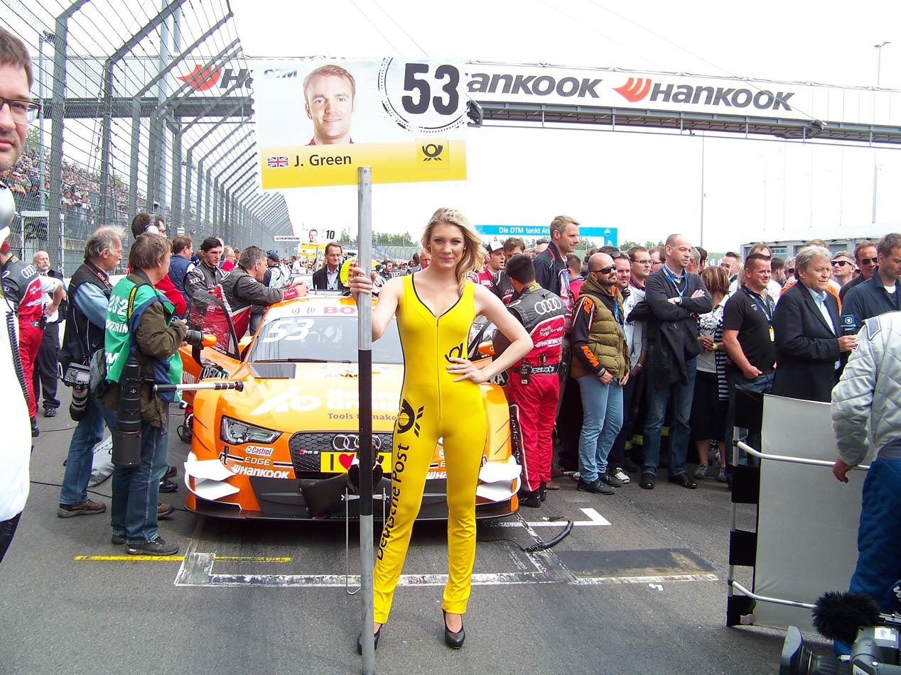 Un fin de semana en el DTM con Mercedes y Dani Juncadella