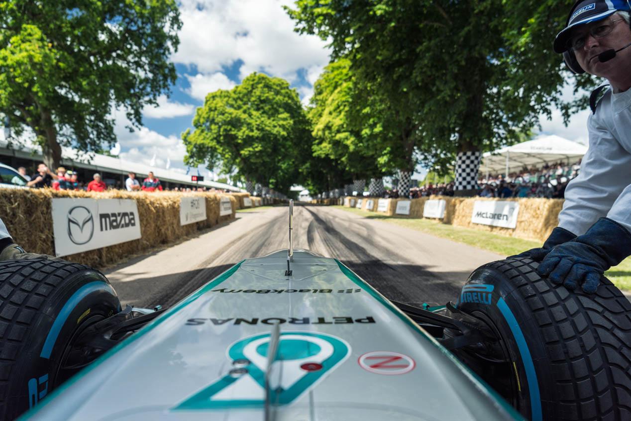Las mejores imágenes del Festival de Velocidad de Goodwood 2015