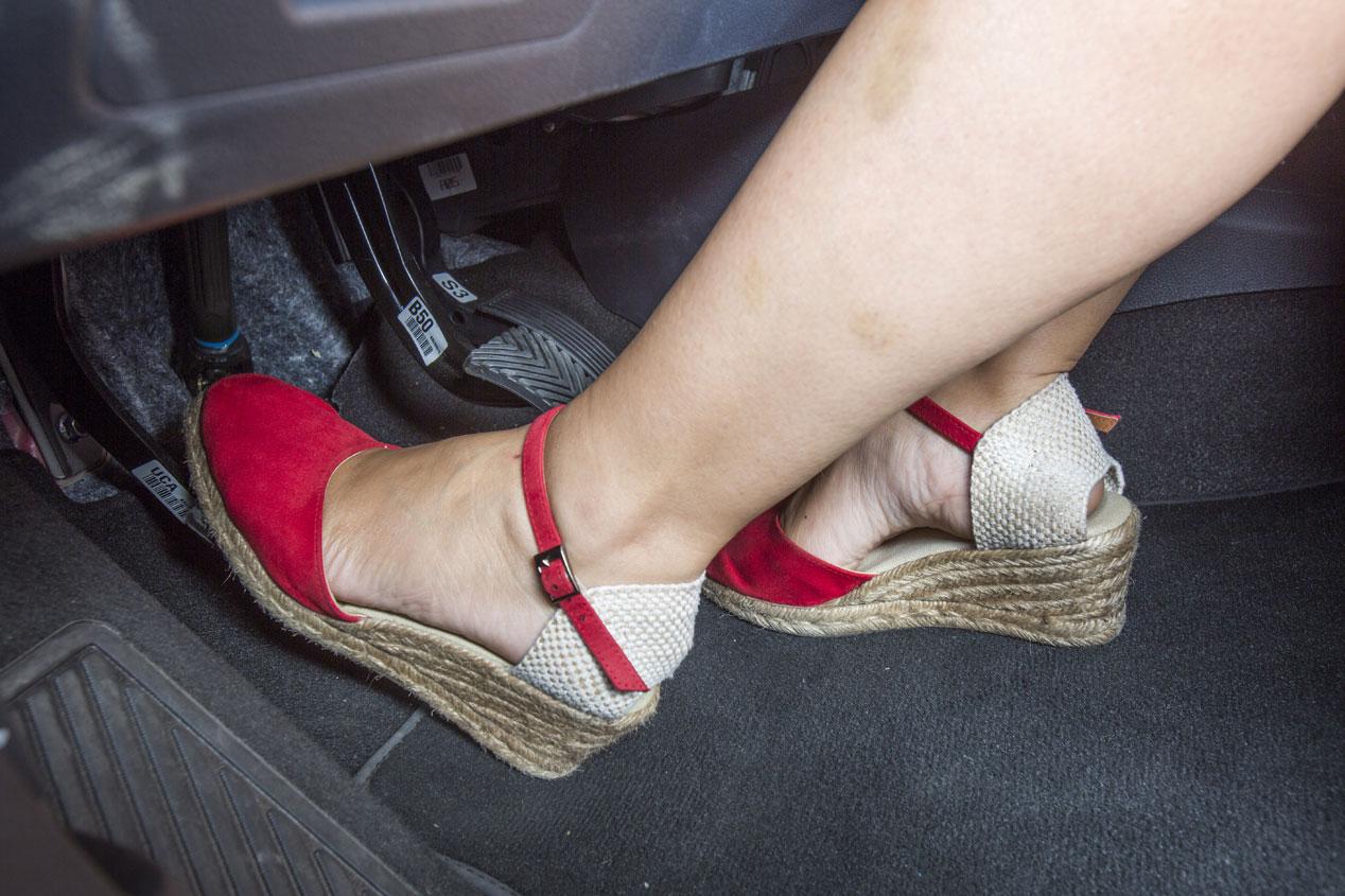 Calzado para conducir