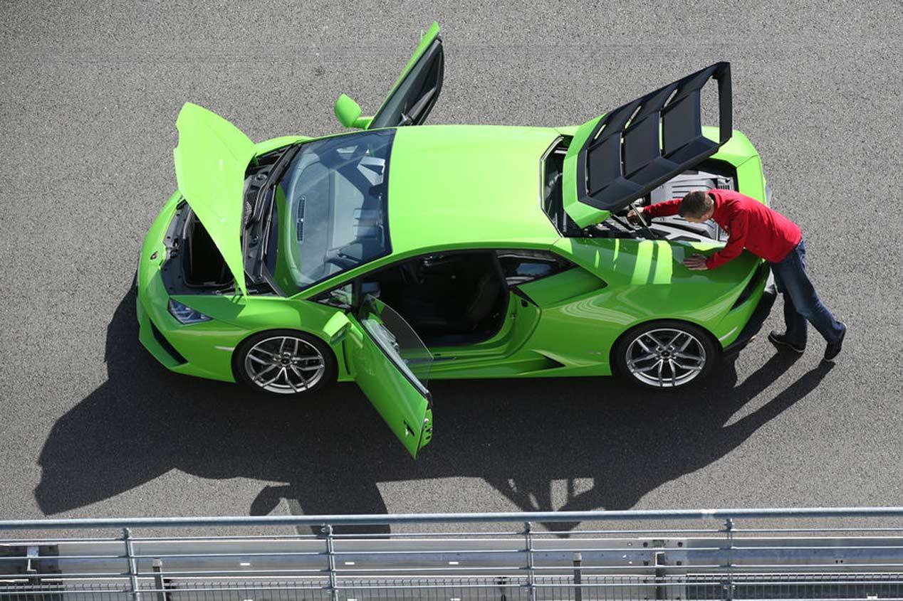 Primera prueba: Lamborghini Huracán LP 610-4, tormenta deportiva