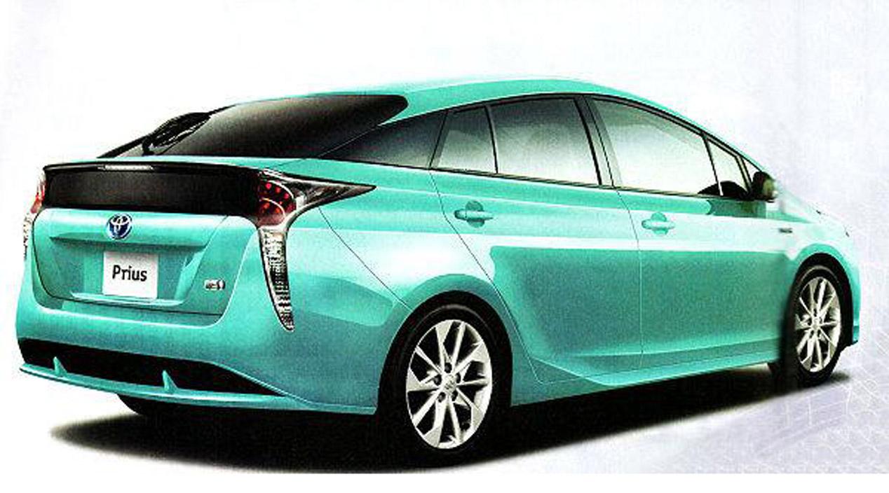 Toyota Prius 2015, filtradas las primeras imágenes