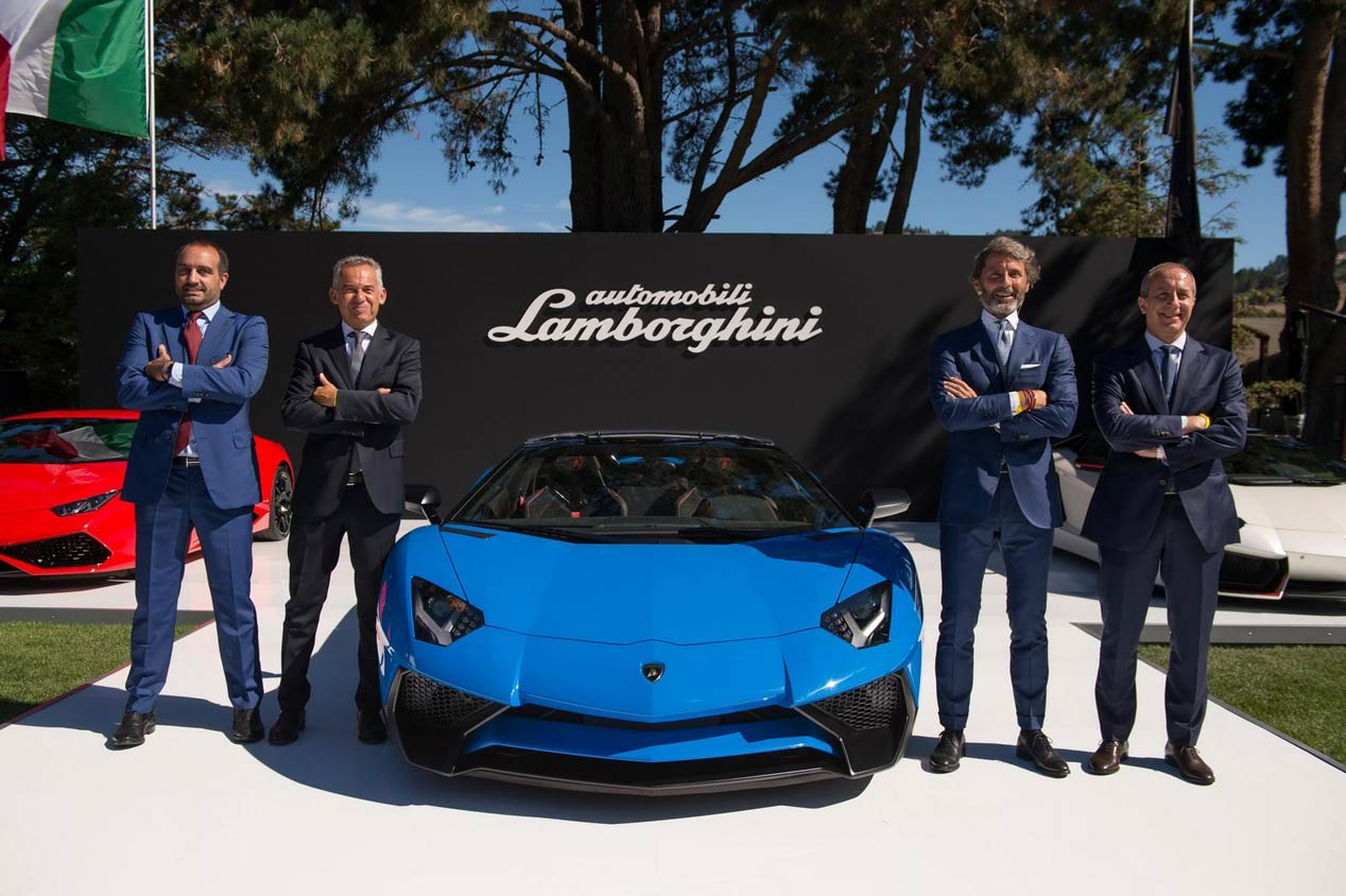 Lamborghini Aventador LP750-4 SV Roadster