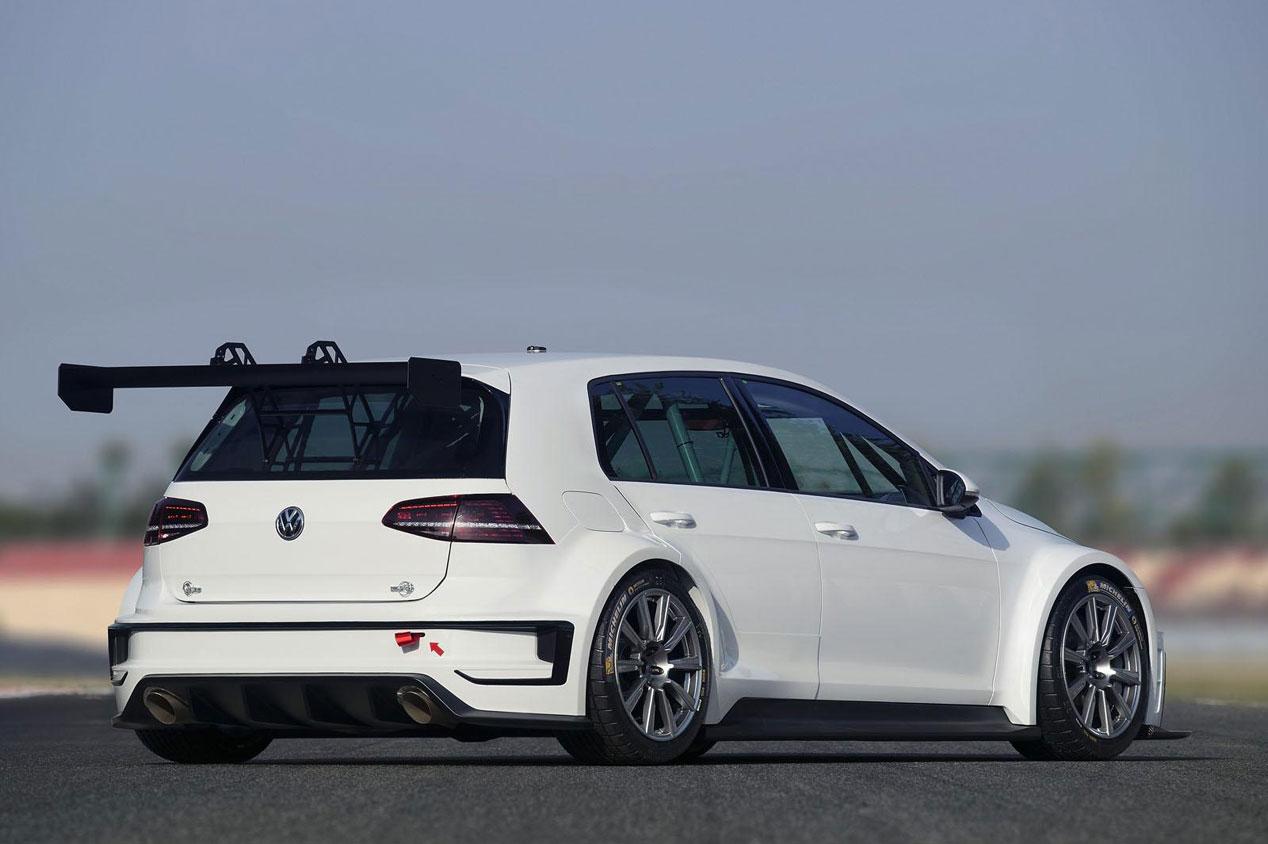 El Volkswagen Golf más 'golfo', sólo apto para circuitos