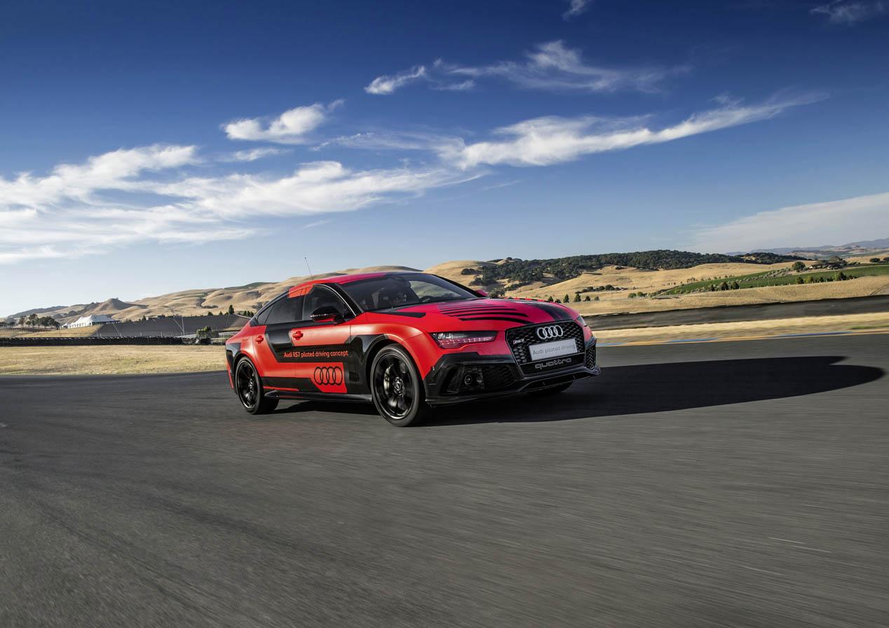 Audi RS 7 Sportback autopilotado