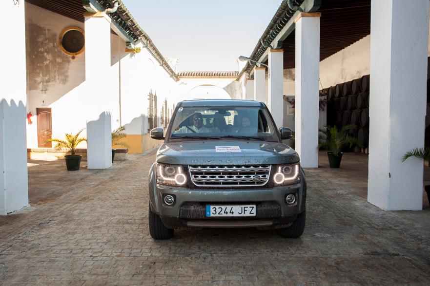 Land Rover Discovery Challenge 2015, Famosos en acción