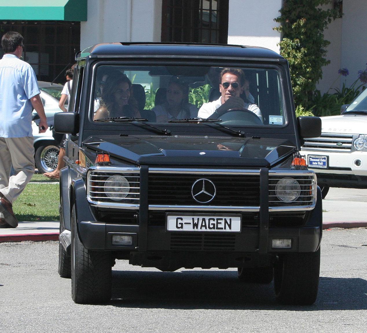 Arnold Schwarzenegger y sus coches, menudas joyas las de Terminator…