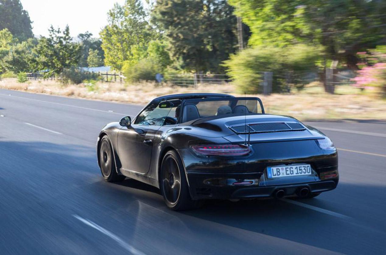 El actualizado Porsche 911, de camuflaje por Sudáfrica