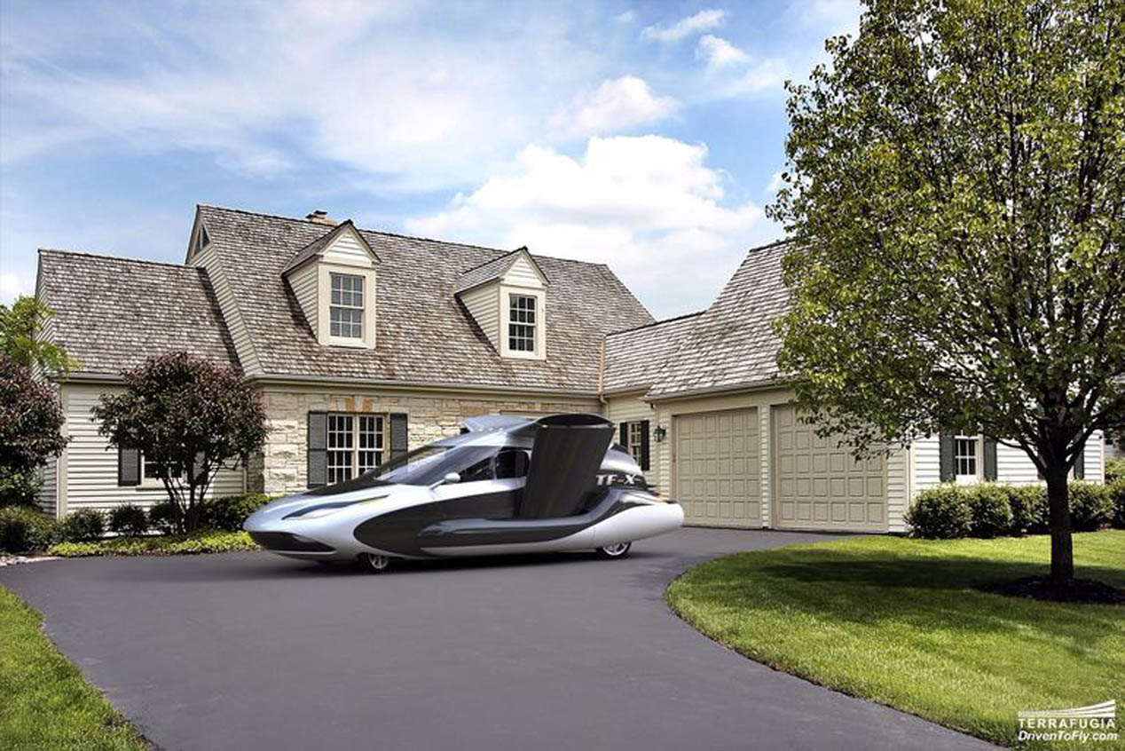 Terrafugia TF-X, el coche volador del futuro