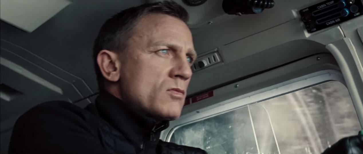 Los coches de Spectre, la última de James Bond, en acción