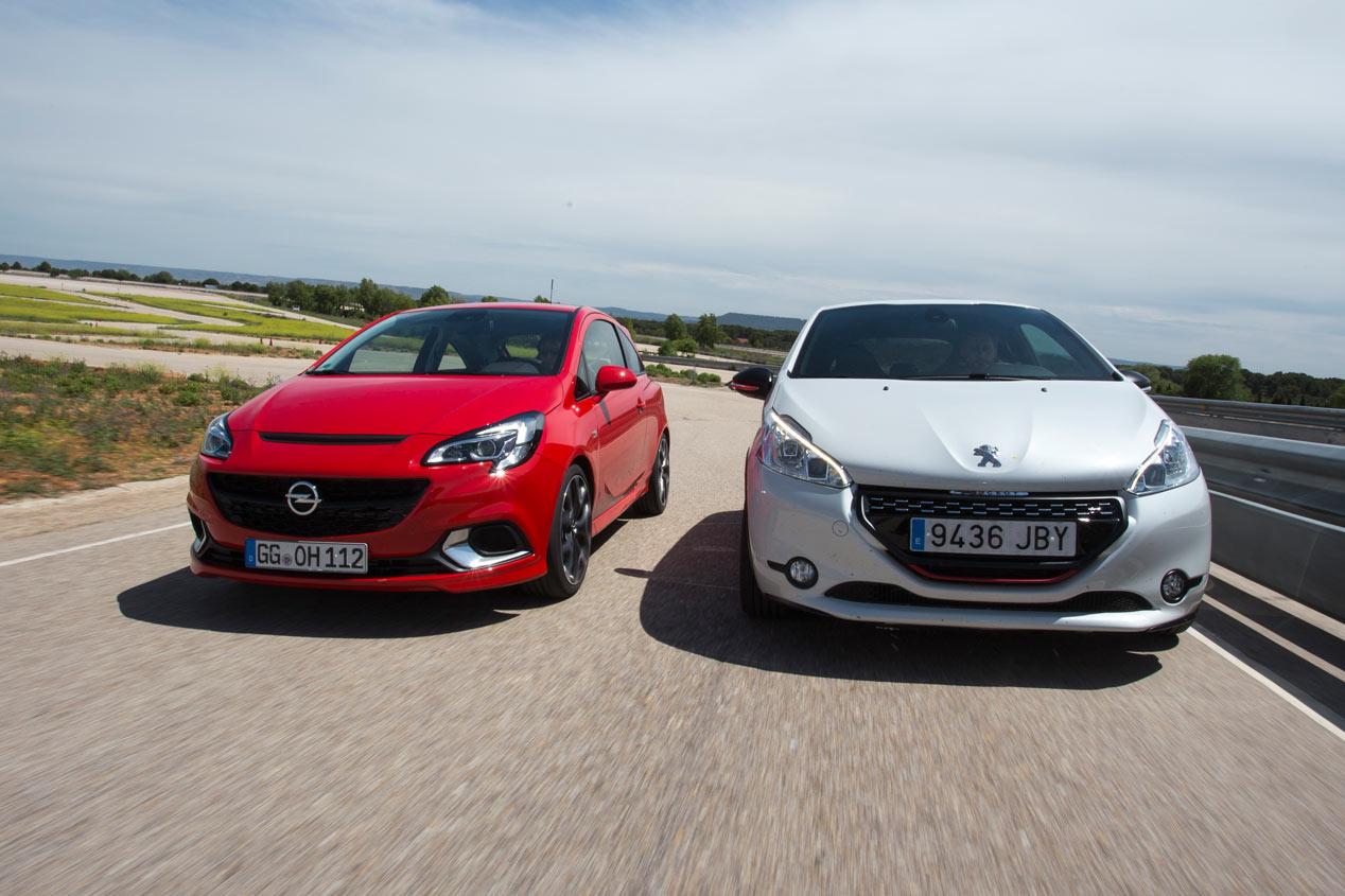 Opel Corsa OPC contra Peugeot 208 GTI 30th