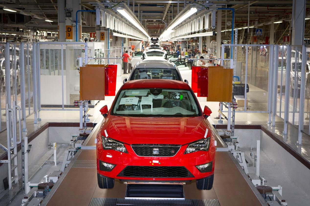 Seat, líder de la producción de coches en España