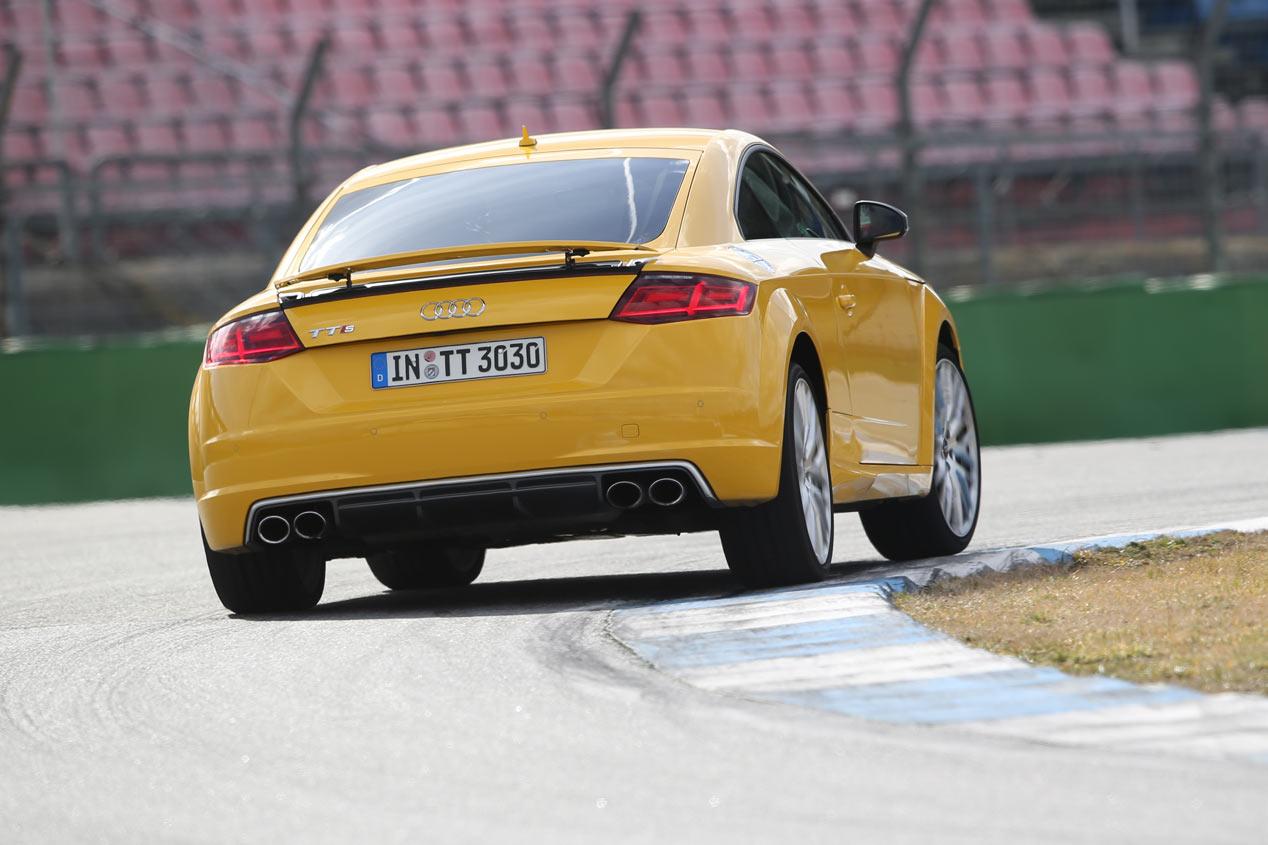 Prueba: Audi TT S, el cuerpo perfecto