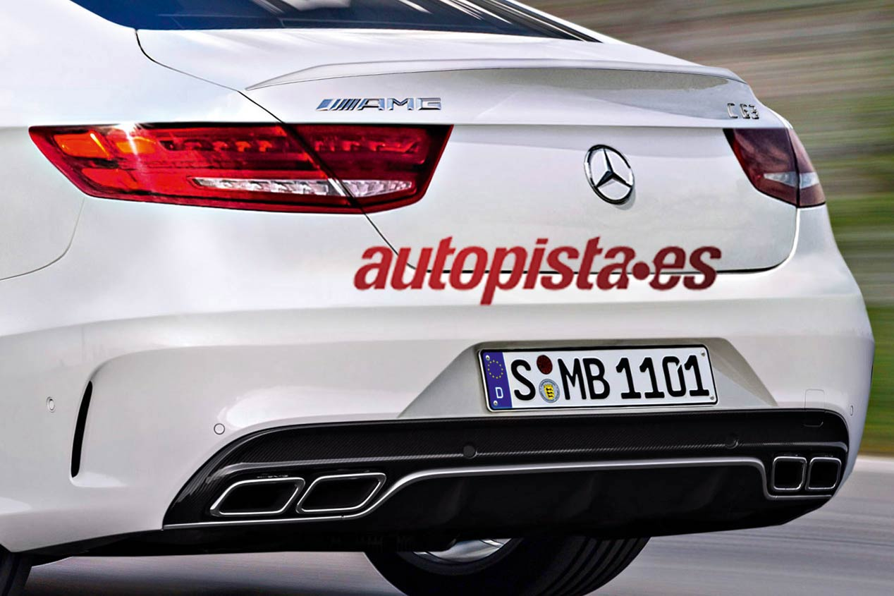 Mercedes C63 AMG Coupé, primeras fotos y datos