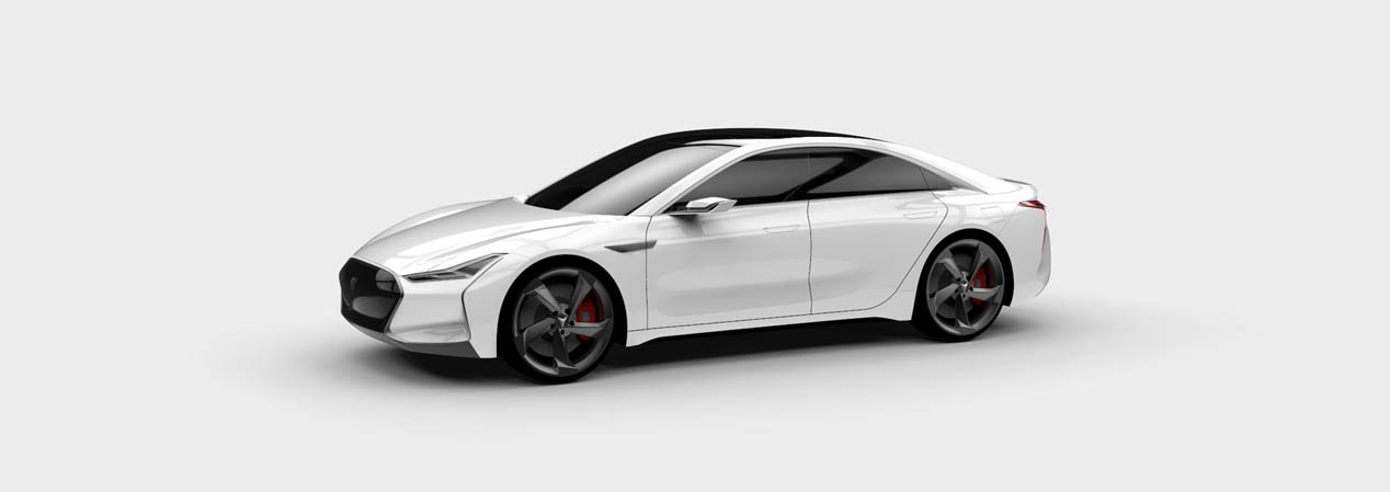 Youxia X, la copia descarada del Tesla Model S