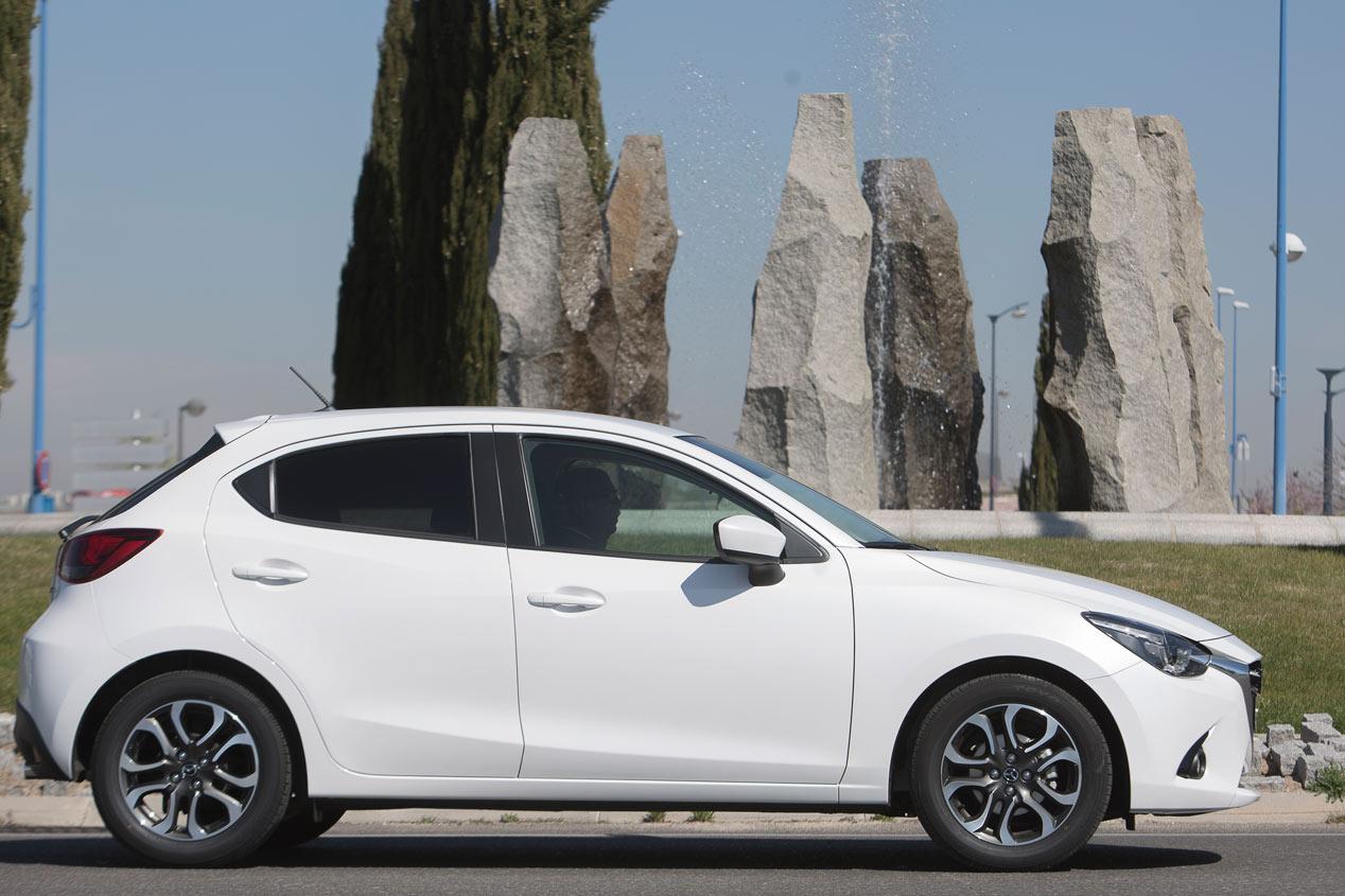 Prueba: Mazda 2 1.5 Skyactiv-G/90, pura seda