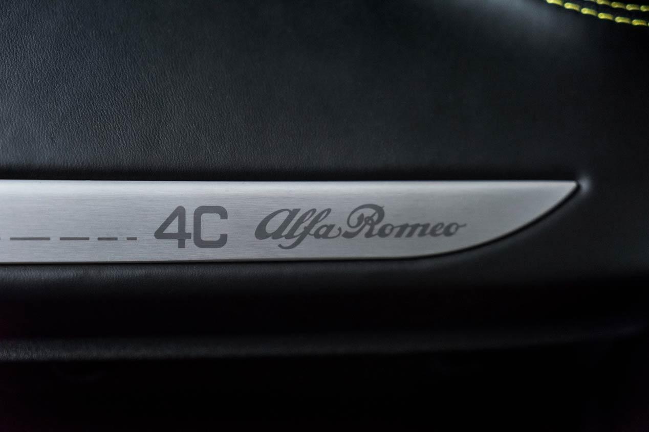 Primera prueba: Alfa Romeo 4C Spider, pura excitación