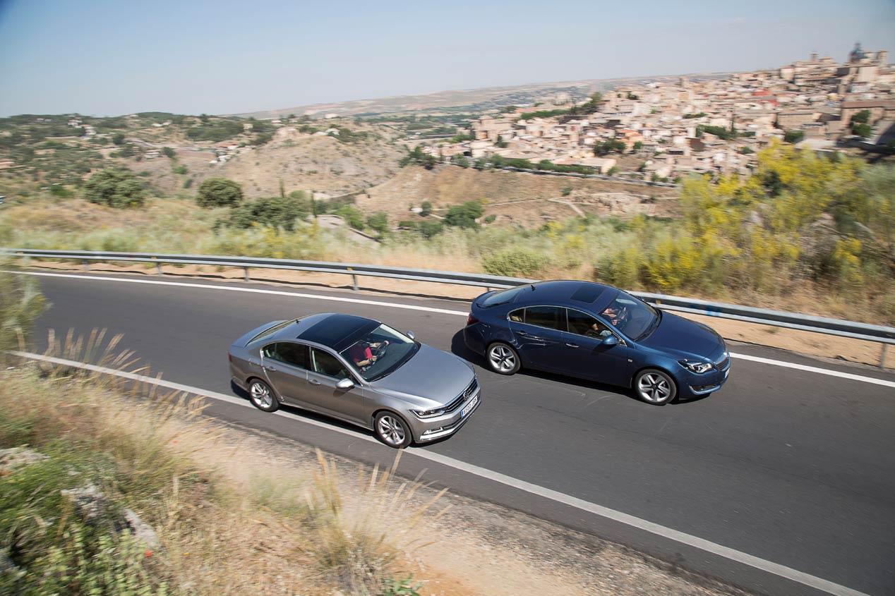 Comparativa: Opel Insignia 2.0 CDTi vs VW Passat 2.0 TDI DSG