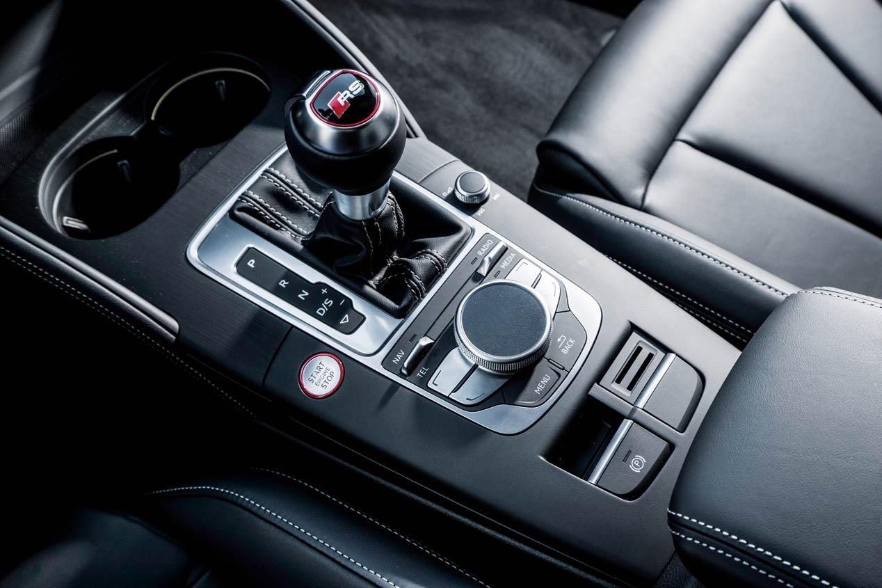 Prueba: Audi RS3, concentrado de deportividad