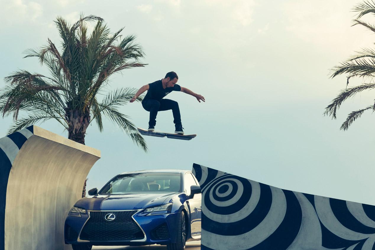 Lexus Hoverboard, el monopatín volador