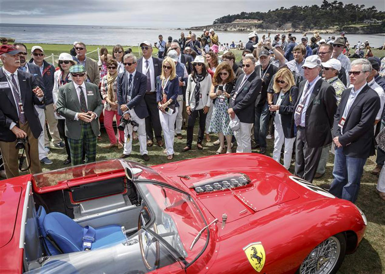 Concurso de Elegancia Pebble Beach 2015