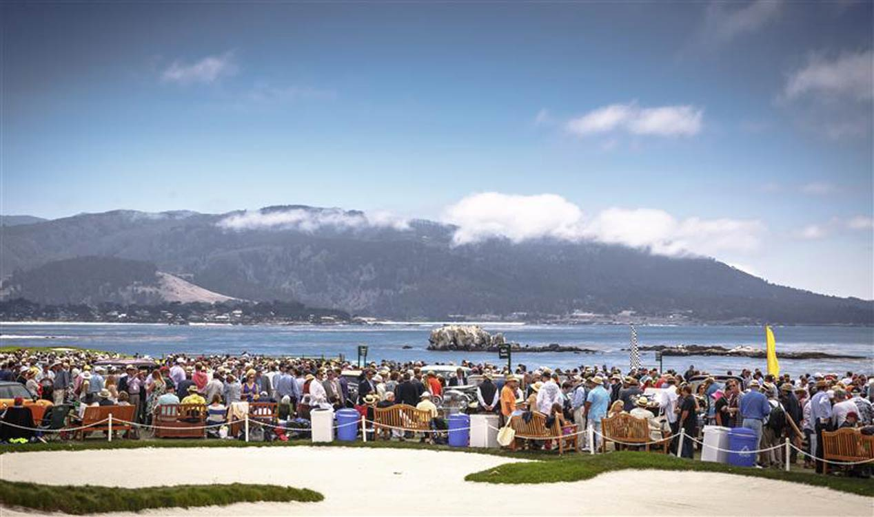 Concurso de Elegancia Pebble Beach 2015